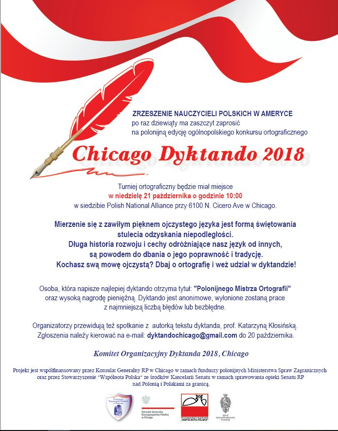 Chicago Dyktando 2018