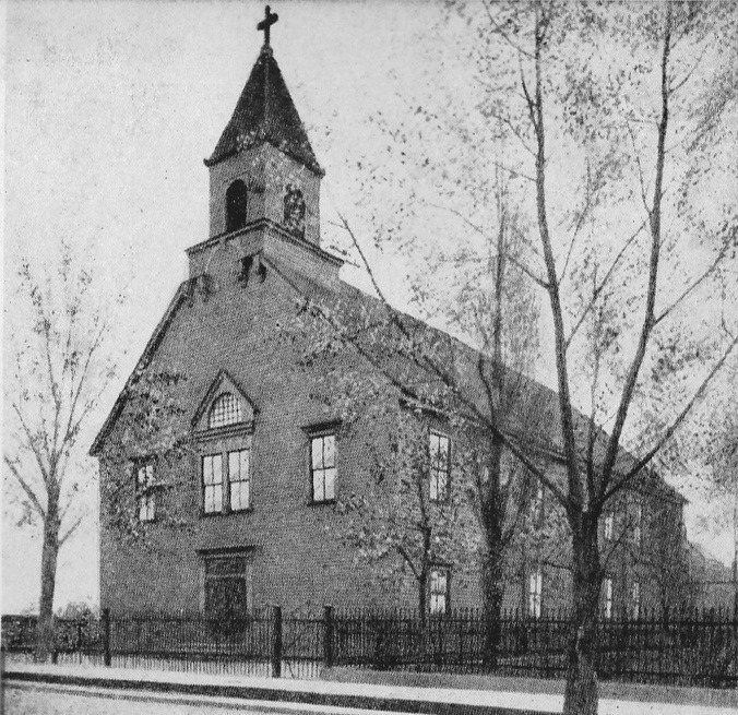 St. Hyacinth's first church